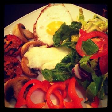 A Vegetarian English Breakfast