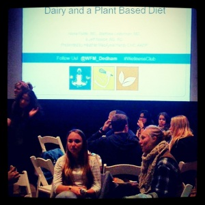 Students gathered to enjoy delicious, cruelty-free food and learn more about the benefits of a plant-based lifestyle.